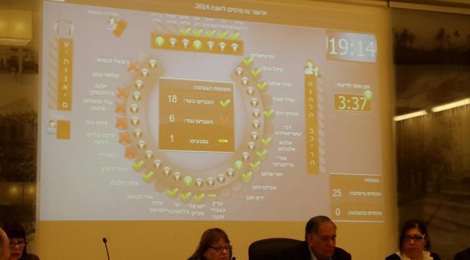 מועצת העיר אישרה את העלאת הארנונה וצו מיסים חדש לחיפה