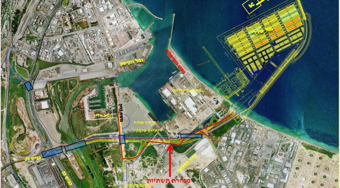 יצא מכרז להקמת תשתיות עורף הנמל, שיחסל את פעילות שדה התעופה. ראש עיריית חיפה נותן יד להרס כלכלת חיפה והצפון.