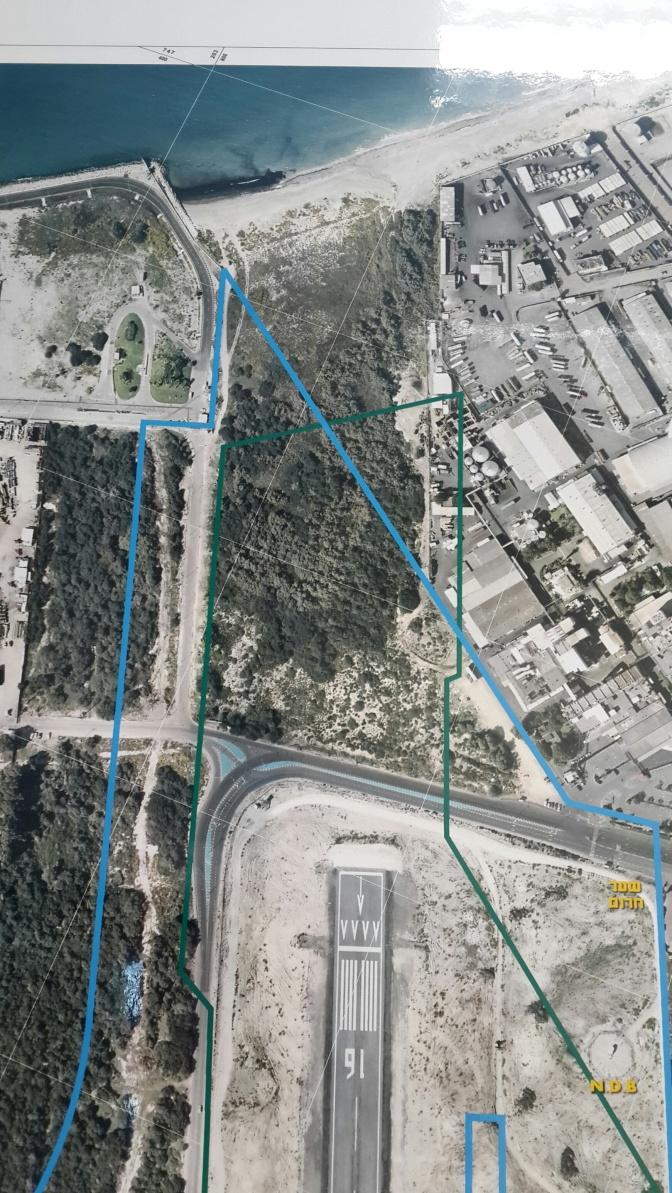 שומרים על מסלול ההמראה של חיפה