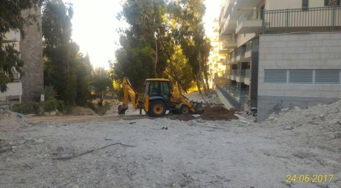 הצעה לסדר: הסדרת נהלי עבודה בתקופת הבניה ברחוב חביבה רייך,ועדכון תכניות עתידיות לרחוב לאור המצב בשטח